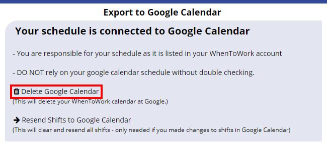 delete google calendar export